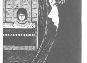 【恐怖漫画 短篇】伊藤润二系列恐怖漫画《阁楼的长发》