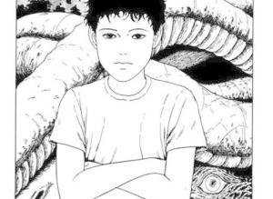 【恐怖漫画 短篇】伊藤润二恐怖漫画系列《超自然转学生》