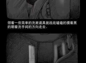 【恐怖漫画 短篇】恐怖漫画《洗手间