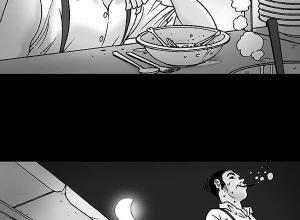 【恐怖漫画 短篇】无声恐怖漫画《的士》