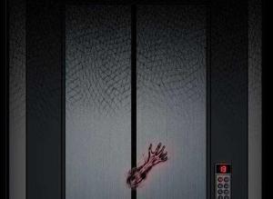 【恐怖漫画 短篇】中国诡实录《电梯》电梯里有鬼