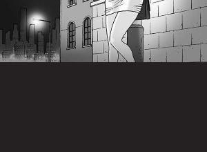 【恐怖漫画 短篇】无声恐怖漫画《站街女》
