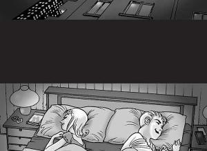 【恐怖漫画 短篇】无声恐怖漫画《背