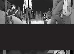 【恐怖漫画 短篇】无声恐怖漫画《猎杀》