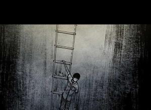 【恐漫短篇】韩国恐惧漫画《深渊的天空》第三季【第四百一十三章 螳螂捕蝉】