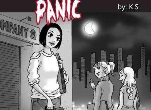 【恐怖漫画 短篇】无声恐怖漫画《恐慌》