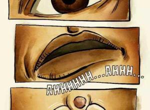 【恐怖漫画 短篇】猎奇漫画 | 挤痘痘
