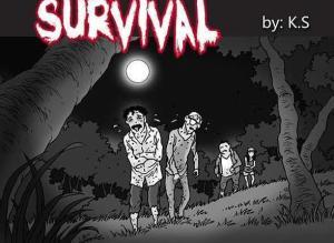 【恐怖漫画 短篇】无声恐怖漫画《幸存者