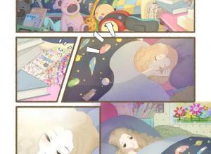 【恐怖漫画 短篇】故事漫画《栖七的礼物》