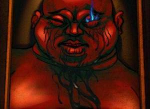 【恐怖漫画 短篇】恐怖漫画《死亡切片》略显诡异的人像