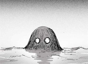 【恐怖漫画 短篇】猎奇漫画《水鬼》