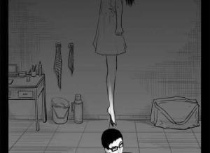 【恐怖漫画 短篇】恐怖漫画《出租屋》替死鬼