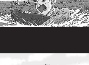 【恐怖漫画 短篇】无声恐怖漫画《漂流》