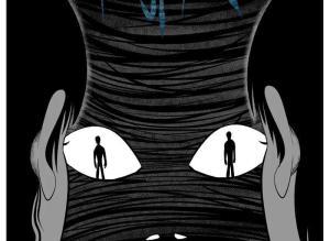 【恐怖漫画 短篇】恐怖漫画《忧郁症》人是最可怕的