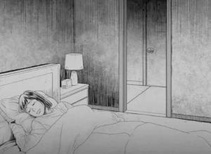 【恐怖漫画 短篇】鬼压床
