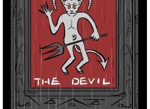 【恐怖漫画 短篇】《恶魔的诅咒》来自多维空间生物的惩罚