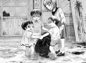 【恐怖漫画 短篇】坏小孩的游戏