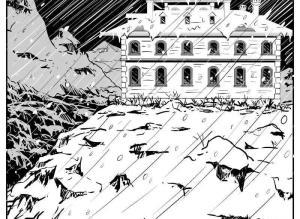 【恐怖漫画 短篇】暴风雪山庄杀人事件
