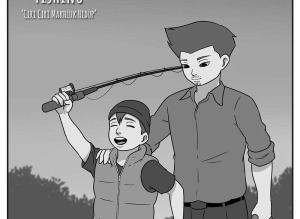 【恐怖漫画 短篇】钓鱼