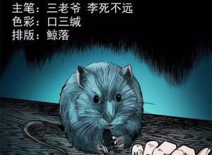 【恐怖漫画 短篇】老鼠成仙