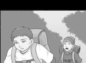 【恐怖漫画 短篇】远足